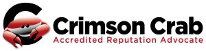 Accredited Crimson Crab Reputation Advocate Logo