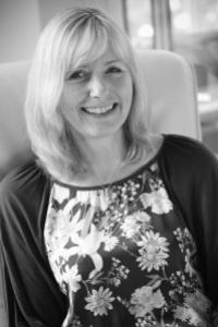 Wendy Briggs Managing Director of Crimson Crab in Black and WHite
