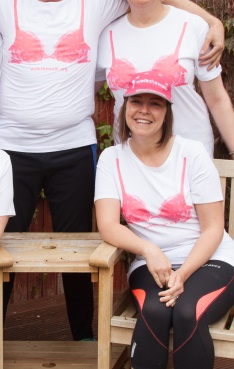 Profile photograph showing a lady at the moonwalk with several other people in view as well